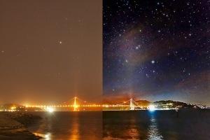 Light pollution Astrophotography Urban Astronomy